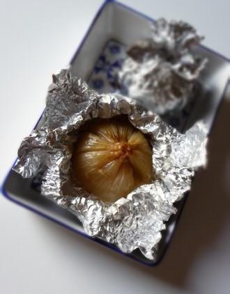 cipolla al cartoccio