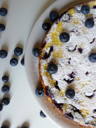 blueberries-cheesecake